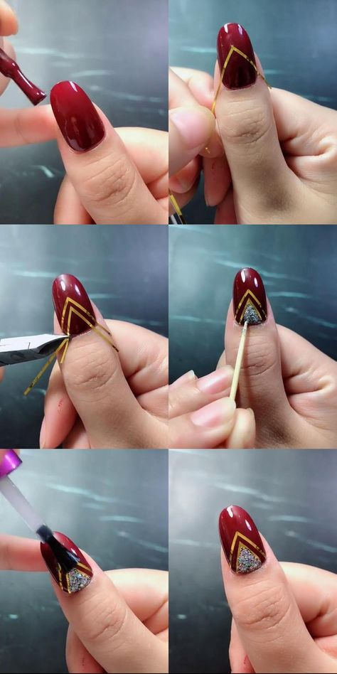 Looking for some cool DIY Nail Art ideas? Our awesome list of nail art tutorials are not impossible to do at home. That'll convince you that you don't actually need to pay someone to do your nails for you.  Complete with detailed photos, you are sure to get what you see.