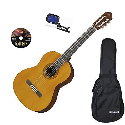 Yamaha C40 Gigmaker Classical Acoustic Guitar Package Acoustic Guitar For Sale Black Acoustic Guitar Classical Acoustic Guitar
