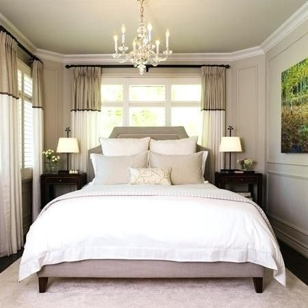 King Size Bed In Small Room Stylish Small Master Bedroom Ideas