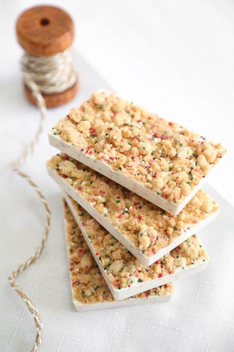 Sprinkle Bakes: Sugar Cookie Bark