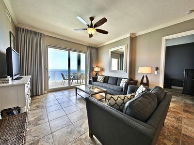 Ocean Ritz 4 Bedroom 4 Bath 2 King Size Beds 2 Masters On Water Panama City Beach In 2020 King Size Bed Panama City Beach Pool Hot Tub