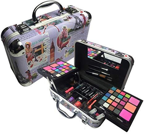 Br Carry All Trunk Train Case Make Up