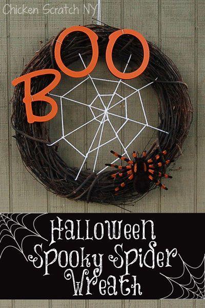 Spiderweb Wreath Black and white Halloween wreath Halloween wreath simple wreath Grapevine Halloween Wreath Spiderweb Halloween Wreath