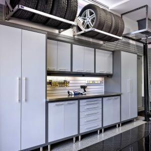 Wonderful Garage Shelving Ideas Wall And Ceiling Great Modern