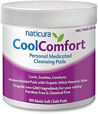 Amazon Com Hemorrhoid Relief Personal Medicated Cleansing Wipes
