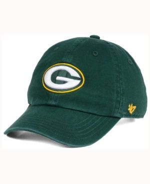 47 Brand Kids Green Bay Packers Clean Up Cap Green Youth 47 Brand Baby Clothes Shops Socks Women