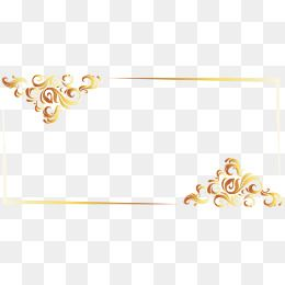 Gold Line Border European Vector Frame Border Vector Vector Lines Png Transparent Clipart Image And Psd File For Free Download Clip Art Borders Gold Line Clip Art