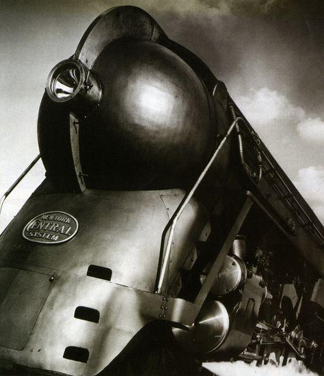 "secretcinema1: "" 20th Century Limited, 1938, (designed by Henry Dreyfuss) "" @blackhawk79"