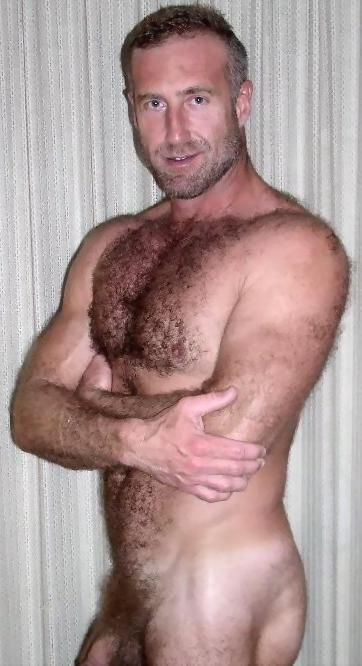 Naked gay hairy