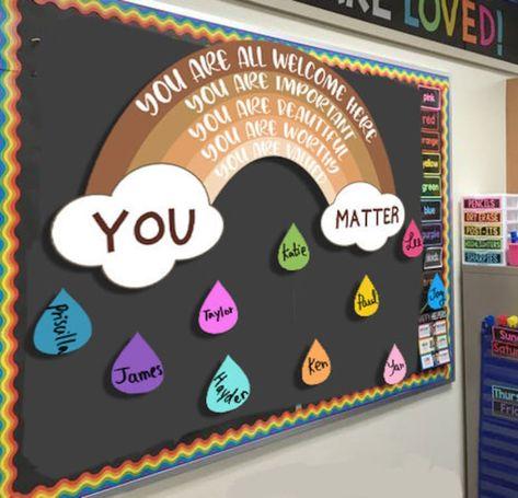 In this Classroom decoration, Kindergarten classroom, Diversity classroom, diversion safe, classroom bulletin board decor, teacher classroom