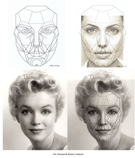 Marquardt Beauty Analysis mask - Google Search Construction Refs
