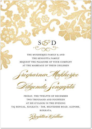 wedding card front ♡結婚式招待状♡ Pinterest Wedding card - invitation card kolkata
