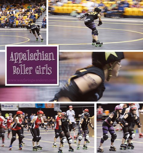 [Warning!] Roller Derby Can Be Addictive! #collage #travelblog