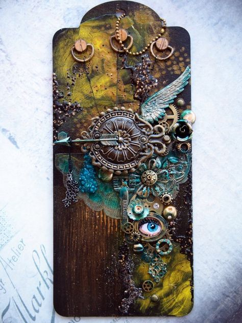 Created by Gayle Price. October 2014 Mixed Media Tag