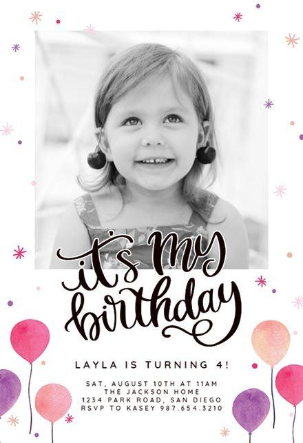 birthday invitation maker free app
