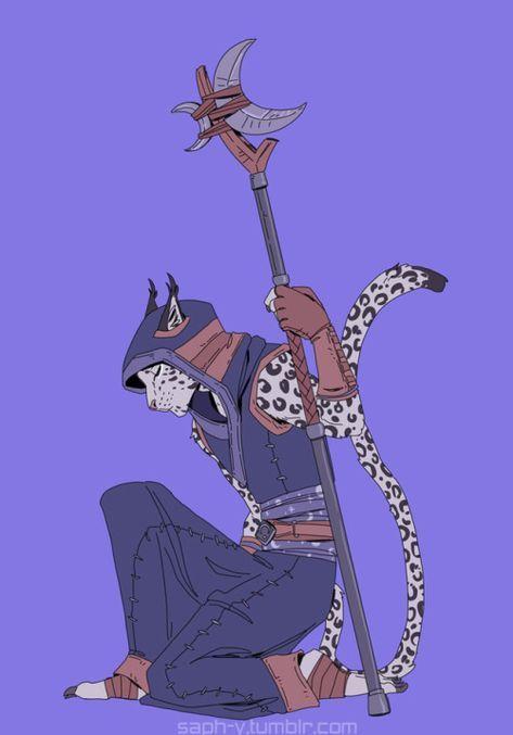 Tabaxi druid