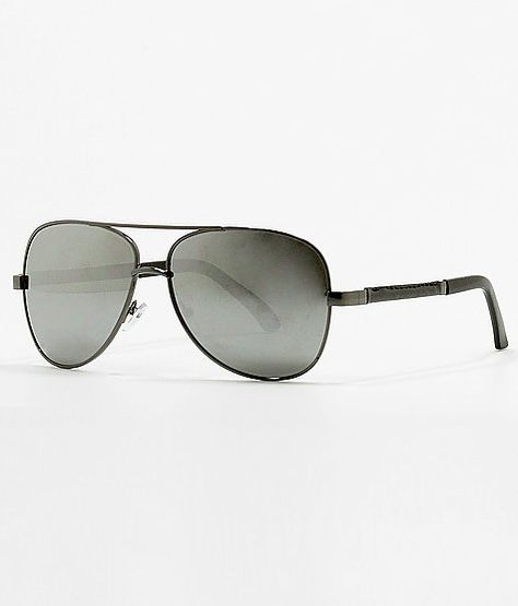 6bdeb4edfcb BKE Gun Aviator Sunglasses at Buckle.com