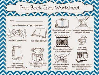 Book Care Classroom Freebies Book Care Book Care Lessons Kindergarten Library