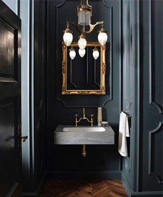 8 Interior Design Rules You Should Break Bathroom Trends Herringbone Floor Bathroom Inspiration