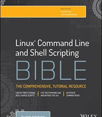 Linux Command Line And Shell Scripting Bible 3rd Edition Pdf Linux Script Command