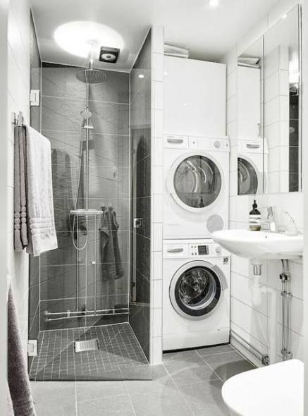 Bathroom Small Shower Ideas Tiny House 29 Ideas For 2019 2019 Bathroom Small Shower Ideas Tiny Hous Laundry In Bathroom Small Bathroom Bathroom Shower Design