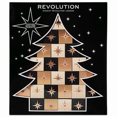 Makeup Revolution Christmas Tree Advent Calendar Makeup Christmas Calendar Beauty Advent Calendar Christmas Tree Advent Calendar