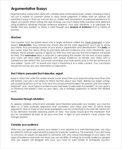 Free 9 Argumentative Essay Samples In Pdf Ms Word Argumentative Essay Writing A Persuasive Essay Writing Argumentative Essays