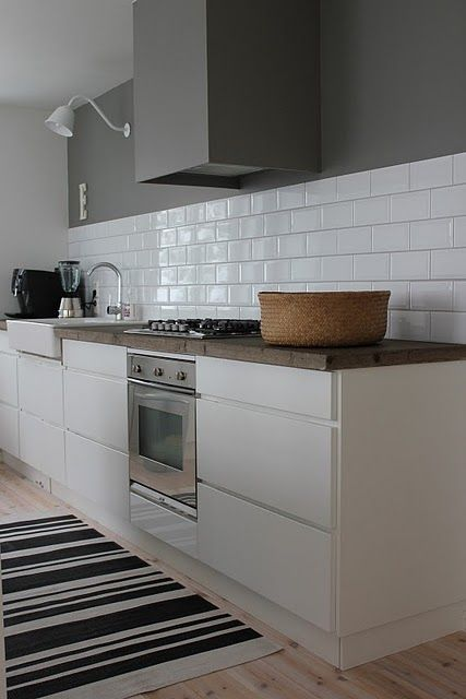 Modern Kitchen Tile Alluring Beautiful Farmhouse Sink Subway Tile Deep Gray Gorgeous
