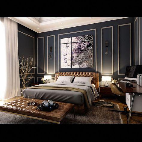 Fin Dormitorio De Lujo De Alta Muebles Disenodelujodeldormitorio