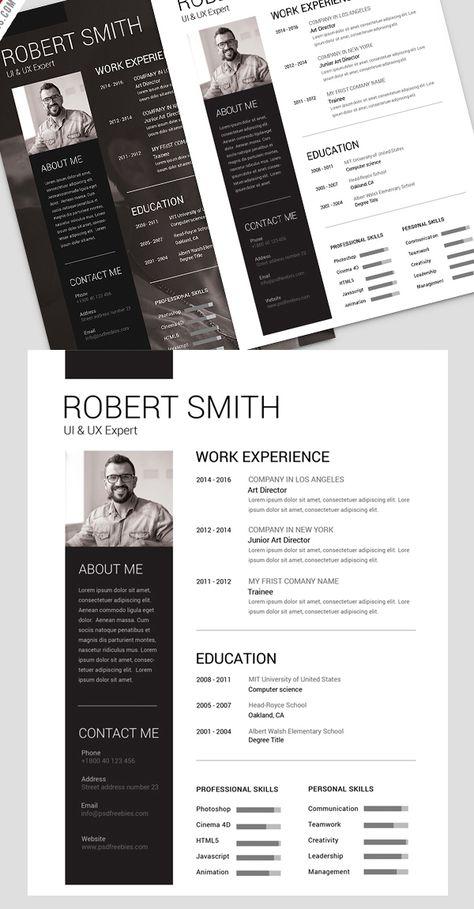 Resume\/CV Bundle - Complete Career Pack - 10 stylish yet - art director cover letter