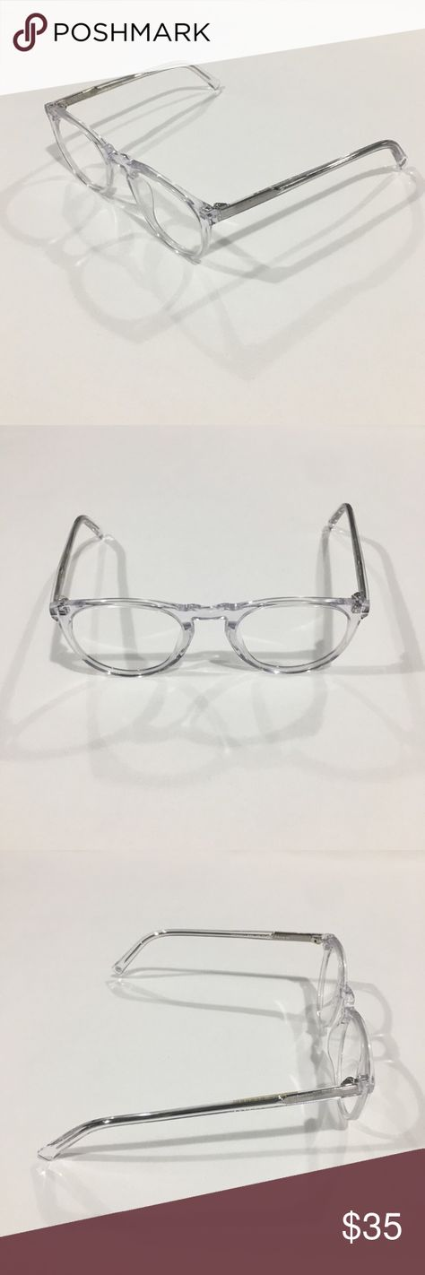 f2957cc4271 Warby Parker Haskell 500 Clear Eyeglasses Frame Item Description  Warby  Parker Eyeglasses Frame HASKELL 500