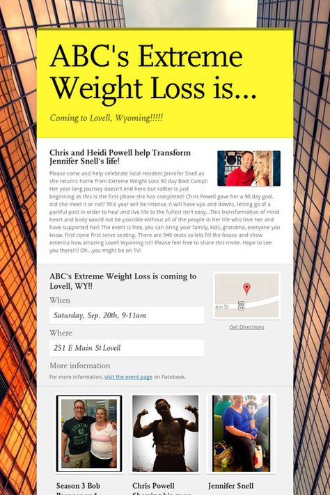 Weight loss programs toronto ontario