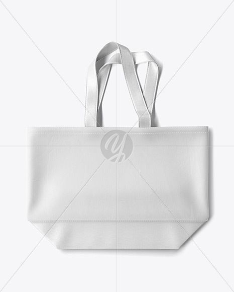 Download Beach Bag With Leather Handles Bottom Mockup Top View In Object Mockups On Yellow Images Object Mockups Bag Mockup Beach Bag Mockup Free Psd