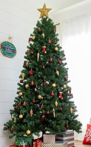 Enjoy A Festive Tree In As Little As 2 Minutes When Out Of The Box Memory Steel Branches Will Maintain Their With Images Amazing Christmas Trees Artificial Christmas Tree