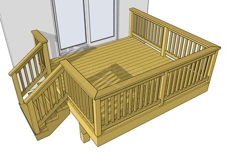 10x12 Deck Plans Decks Free Plans Deck Plans Diy Diy Deck Free Deck Plans