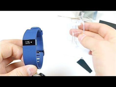 Fitbit Charge HR Unboxing and Setup - YouTube