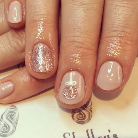 nail Cashmere with Rose Gold...