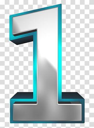 Number Metallic And Blue Number One 1 Illustration Transparent Background Png Clipart Clip Art Transparent Background Mirror Illustration