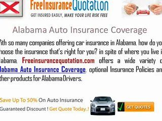 Cheap Alabama Auto Insurance Rates Coverage Laws