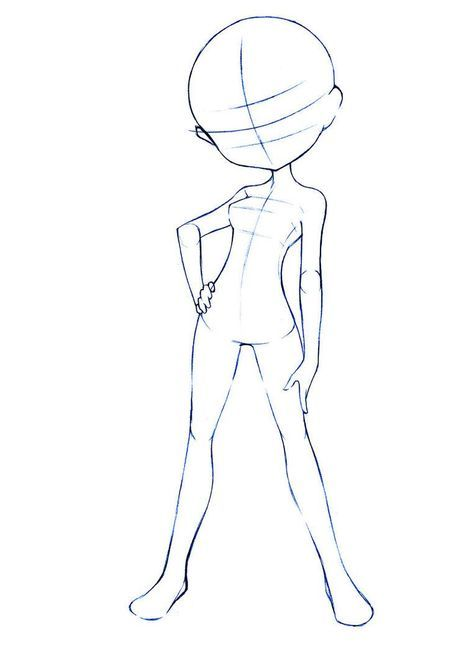 Anime Drawing Template : anime, drawing, template, Drawing, Quite, Sassy, Pose,, Thought, Maybe, Would, Download, Base,, Poses,, Anime, Drawings, Tutorials