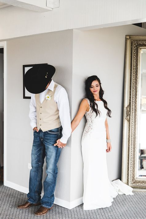 Country rustic bride with a bit of a chic back neckline wearing by wedding groomsmen ANDIE by Maggie Sottero Wedding Dresses Country Wedding Groomsmen, Country Wedding Photos, Country Wedding Dresses, Wedding Pics, Wedding Bride, Dream Wedding, Wedding Blog, Diy Wedding, Wedding Cake