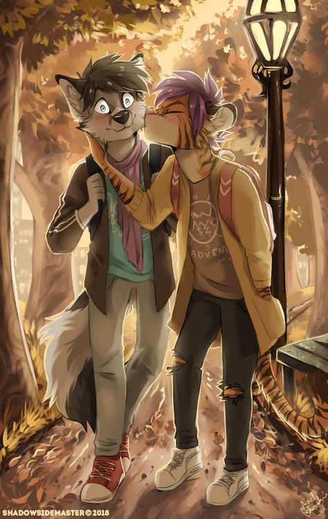 """""""Unexpected Smooch"""" by ShadowSideMaster"""