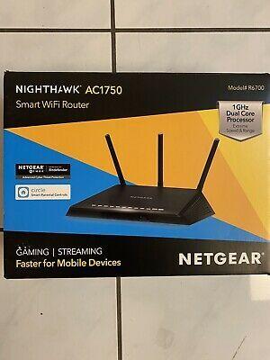 Netgear R7600 Nighthawk Ac1750 Smart Wifi Router R6700 100nas In 2020 Smart Wifi Netgear Router