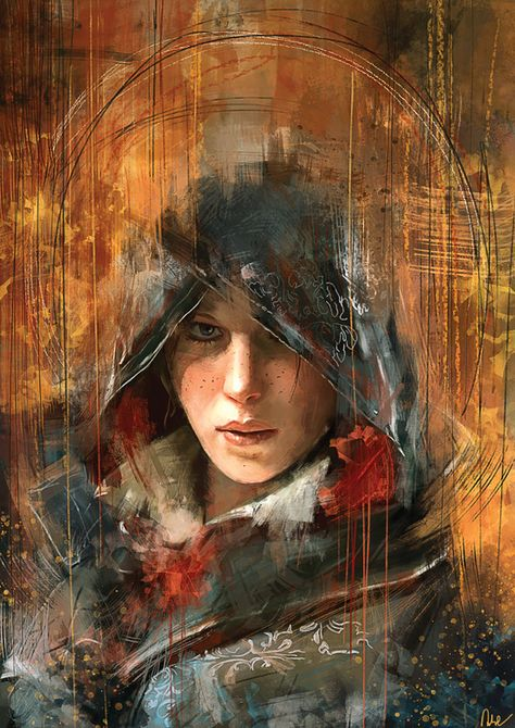 nerdsandgamersftw: Evie Frye By Wisesnail | Available as prints & more via Society6