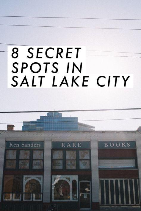 8 Secret Spots in SLC   shannon hall