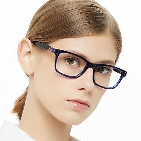 72e986558a OCCI CHIARI Women Stylish Non Prescription Glasses Clear Optical Frames  53-16-140