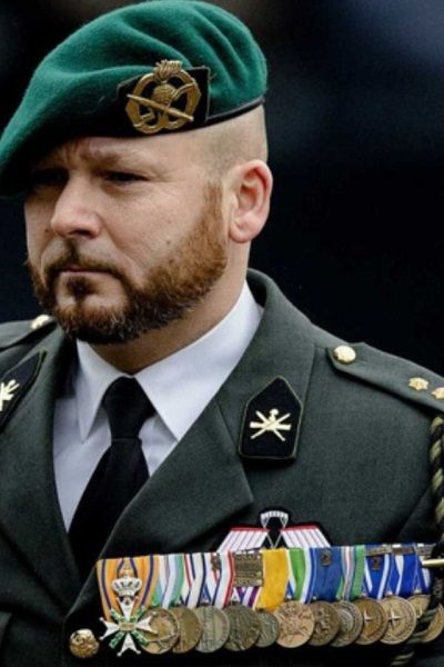 Marco Kroon, member of the Dutch Korps Commando Troepen(KCT). One of the very few every to have received the Militaire Willems-Orde, the highest decoration in the Dutch military.