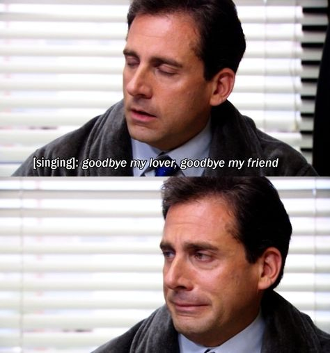 goodbye my friend the office