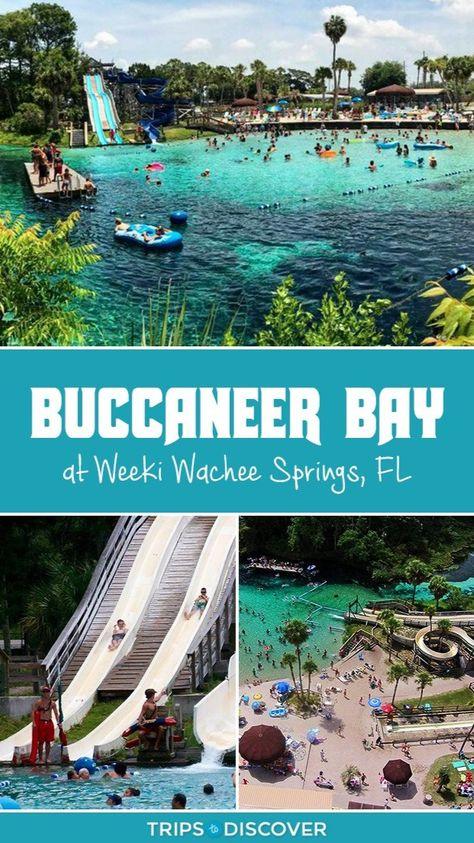 Buccaneer Bay Water Park at Weeki Wachee Springs, Florida