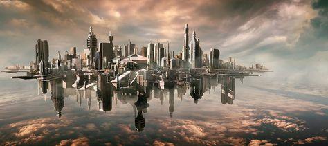 31 Stunning Futurisitc Scifi Illustrations